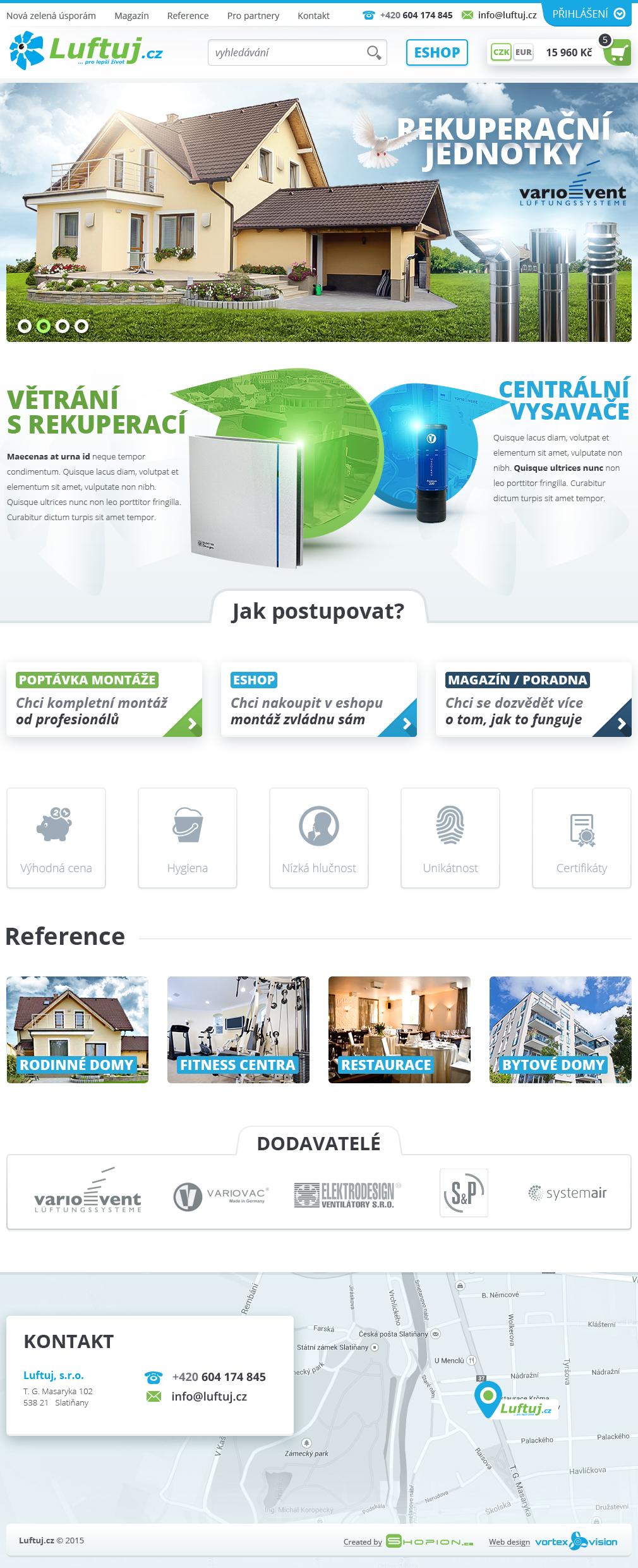 Internetový obchod .luftuj.cz