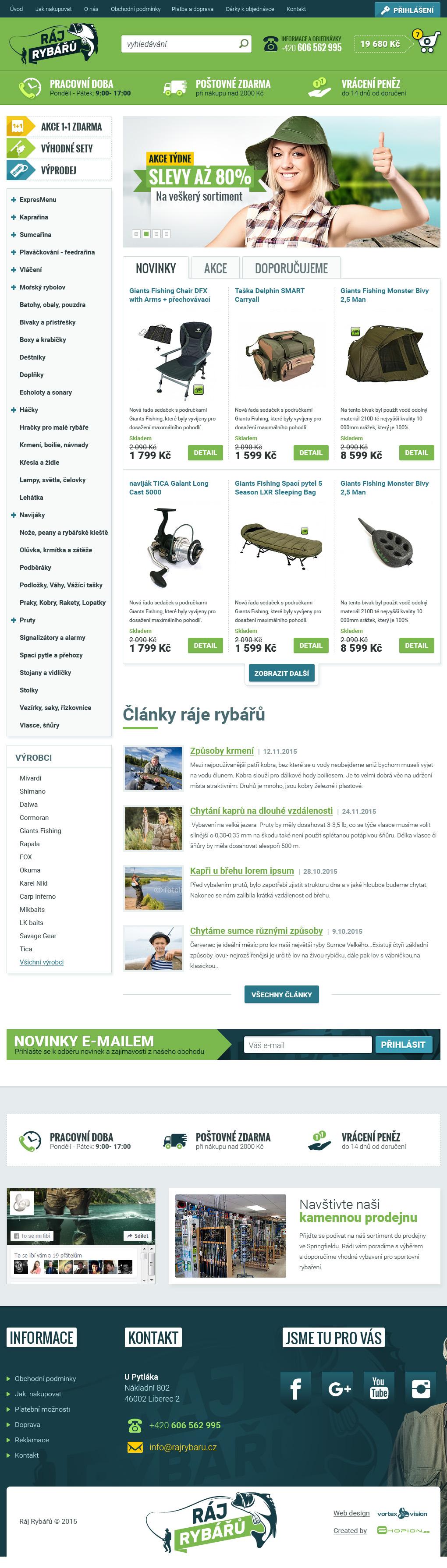 Internetový obchod .rajrybaru.cz