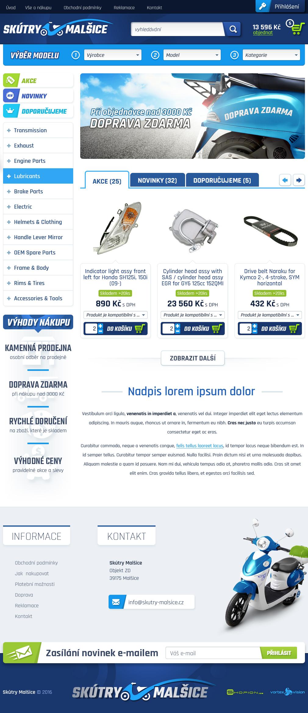 Internetový obchod .proskutry.cz