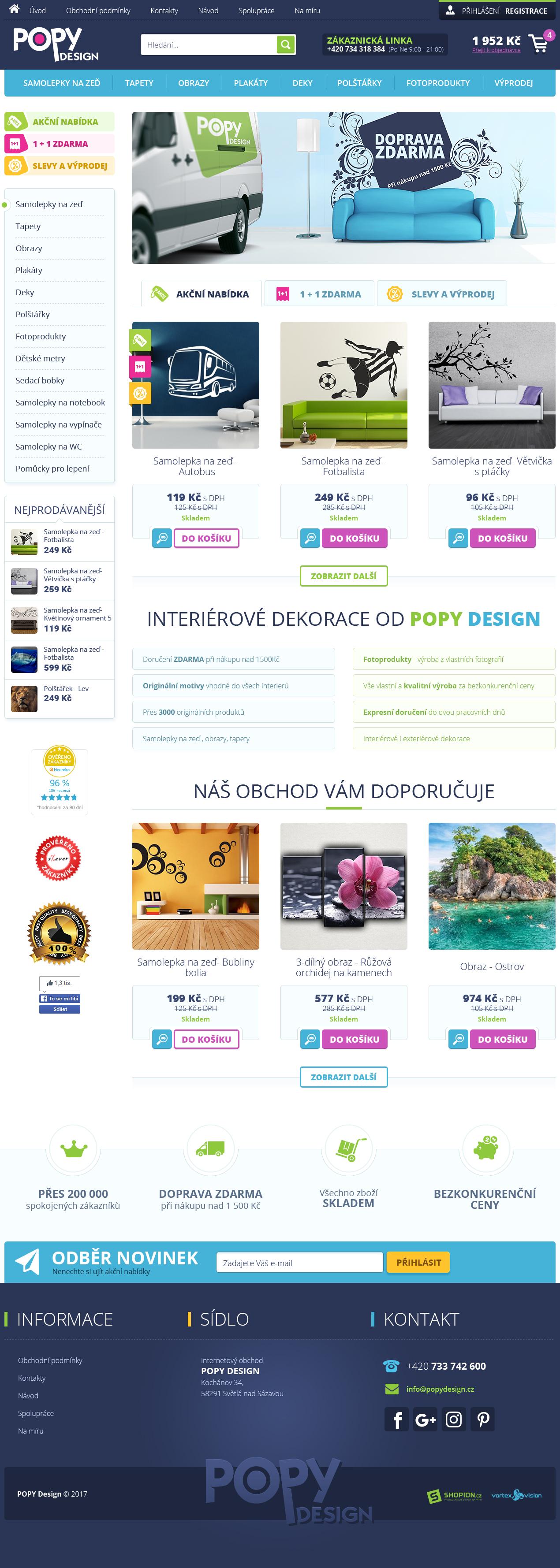 Internetový obchod .popydesign.cz